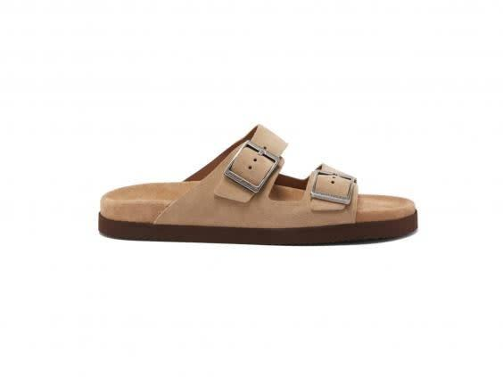 Treat yourself to these suede sandals for summer (Brunello Cucinelli)