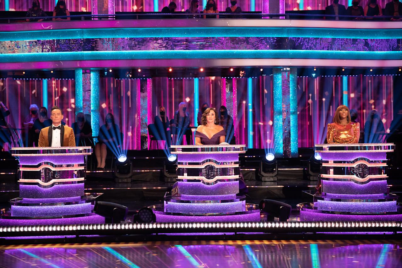 """<p><a href=""""https://www.digitalspy.com/strictly-come-dancing/"""" target=""""_blank"""">Strictly Come Dancing</a> is officially back on screens tonight (October 17) with a launch show unlike any in the reality competition's history. Because of <a href=""""https://www.digitalspy.com/coronavirus/"""" target=""""_blank"""">COVID-19</a>, this series has been cut a bit short and there are plenty of social distancing guidelines in place, but the classic spirit of Strictly lives on! While you'll have to watch tonight at 7.50pm on BBC One to find out the celebrity pairings, click through here for your first look at the launch show.</p>"""
