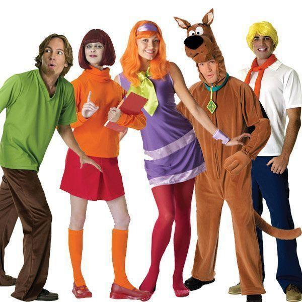 """<p><strong>Halloween Costumes</strong></p><p>halloweencostumes.com</p><p><strong>$39.99</strong></p><p><a href=""""https://go.redirectingat.com?id=74968X1596630&url=https%3A%2F%2Fwww.halloweencostumes.com%2Fscooby-doo-costumes.html&sref=https%3A%2F%2Fwww.goodhousekeeping.com%2Fholidays%2Fhalloween-ideas%2Fg28106766%2Ffamily-halloween-costumes%2F"""" rel=""""nofollow noopener"""" target=""""_blank"""" data-ylk=""""slk:Shop Now"""" class=""""link rapid-noclick-resp"""">Shop Now</a></p><p>The Scooby Doo gang provides the perfect opportunity for a family of five to shine. There are even kid-sized costumes for the littles ones too.</p>"""