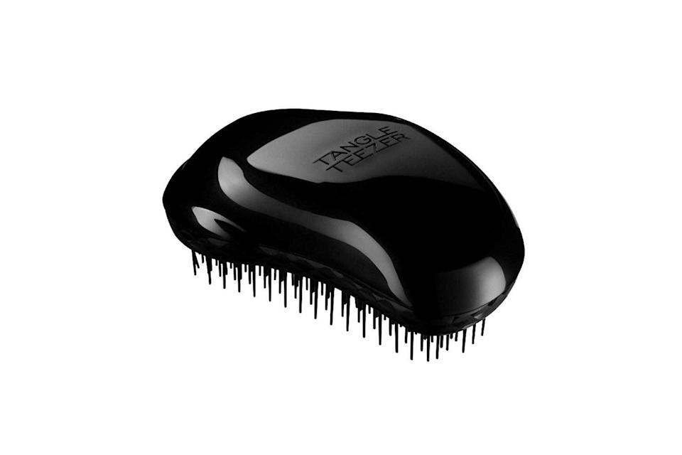 <p>If you haven't at least tried using a <span>Tangle Teezer</span> ($11), then you have no idea what you're missing out on. It features a palm-shaped design with a mixture of long and short teeth that work together to rid your hair of even the toughest of knots and tangles.</p>
