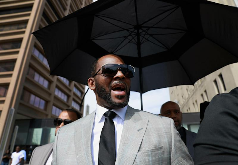 R. Kelly on June 6, 2019, at the courthouse in Chicago.