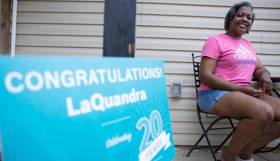LaQuandra Rouse is a longtime healthcare worker at Charlotte's Atrium Health. Still, it took her some time to decide to get vaccinated.