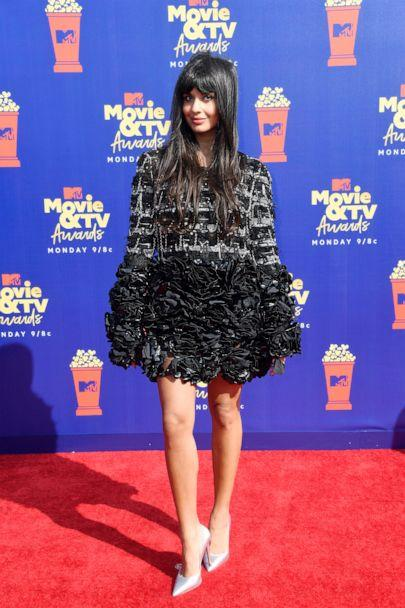 PHOTO: Jameela Jamil attends the 2019 MTV Movie and TV Awards on June 15, 2019 in Santa Monica, Calif. (Frazer Harrison/Getty Images for MTV)
