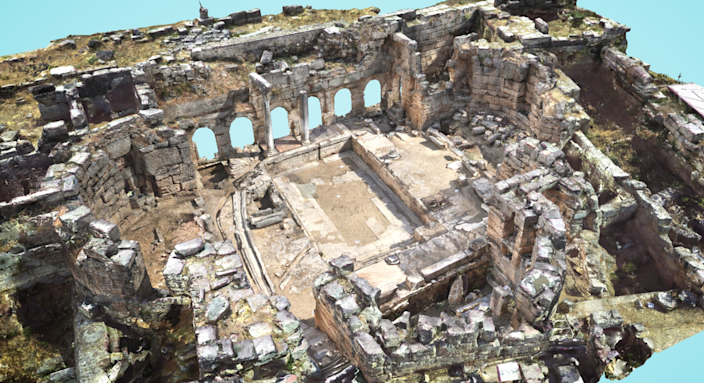 The Greek city of <strong>Corinth</strong> has existed in several iterations following earthquakes in 365, 375, and 856 A.D. Excavations of the ancient city began in 1856 (after yet another earthquake) and continue today.