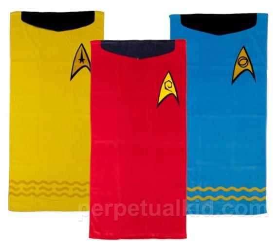 <p>Any <strong>Star Trek</strong> fan would love these <span>towels</span> ($30 each). </p>