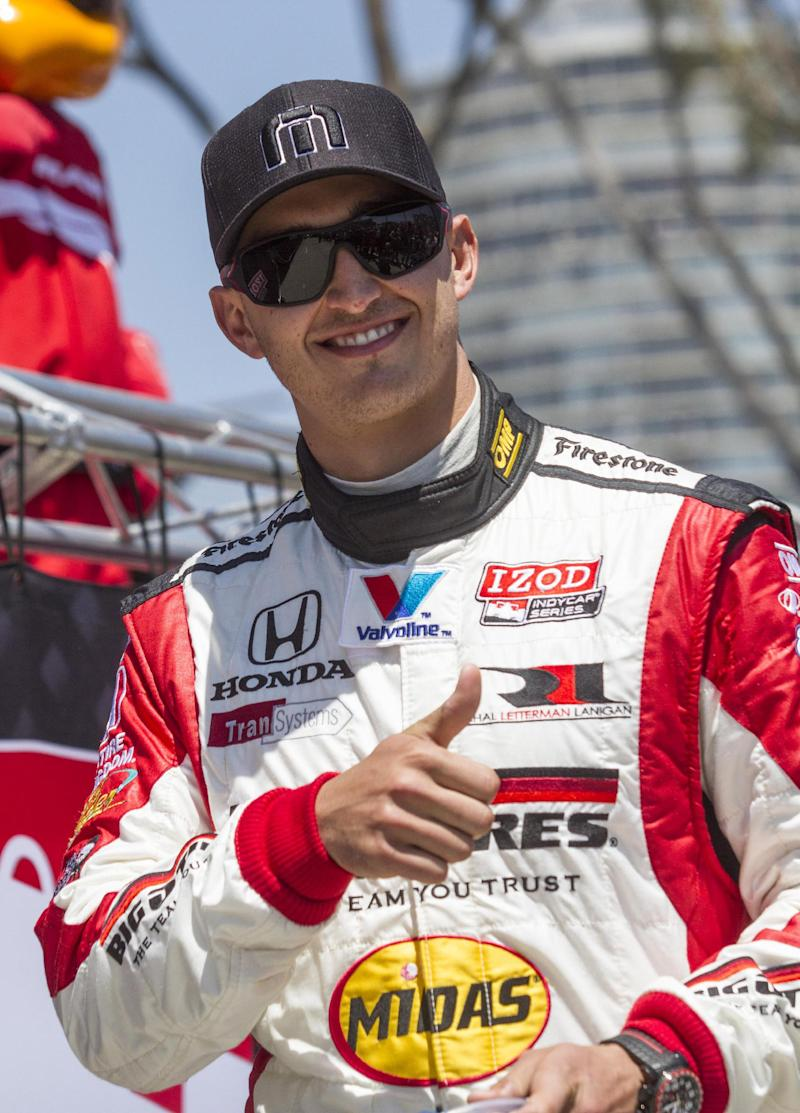 IndyCar's Rahal gets National Guard as sponsor