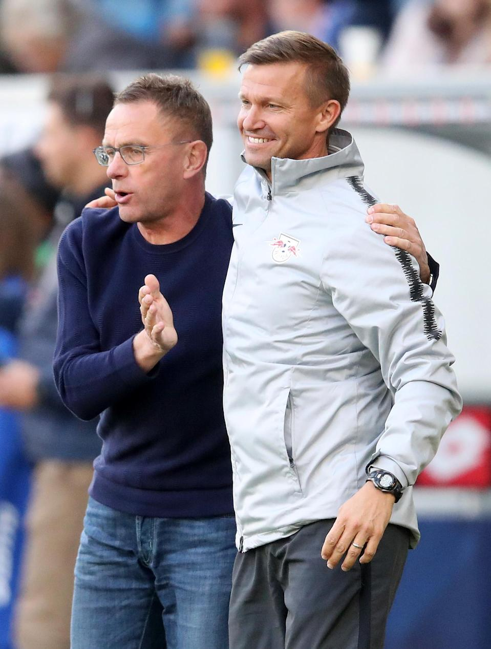 After five seasons as a head coach in MLS, Marsch has a different role under RB Leipzig manager Ralf Rangnick. (Getty)