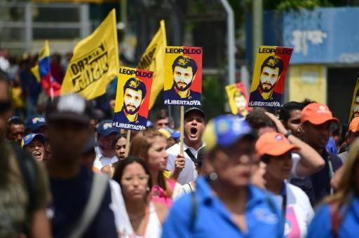 Jailed Venezuela opposition leader urges more anti-Maduro protests