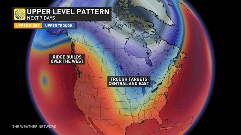 National Pattern early to mid-next week