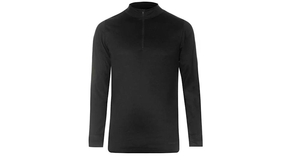 Thermal Zip Top Mens