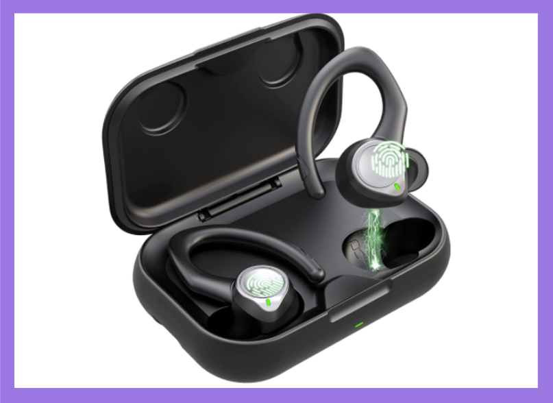 Fire up your earbuds in their own charging case. (Photo: Amazon)