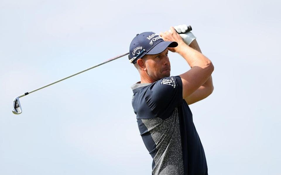 Henrik Stenson claimed a share of the lead on day one of the D+D Real Czech Masters (David Davies/PA) (PA Wire)