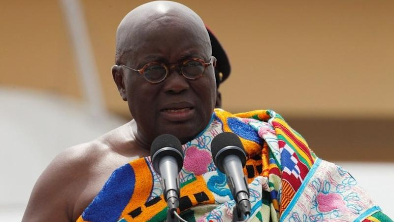 Ghana's President Nana Akufo-Addo speaks during his swearing-in ceremony at Independence Square in Accra, Ghana January 7, 2017.