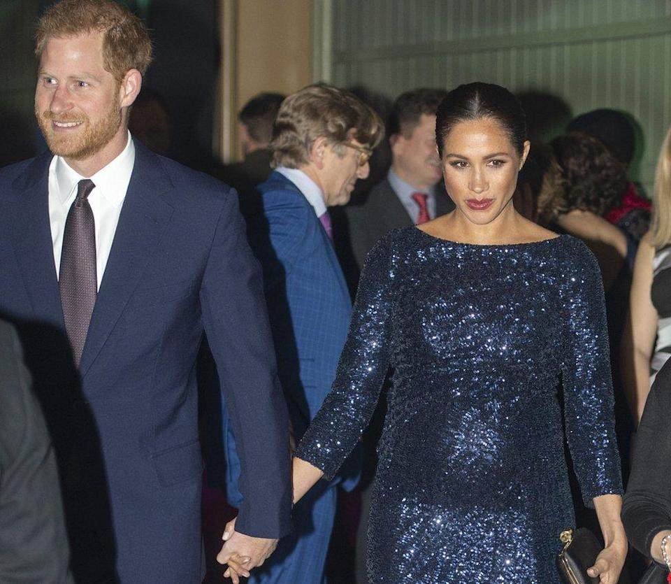 Prince Harry, Duke of Sussex and Meghan, Duchess of Sussex attend the Cirque du Soleil Premiere Of