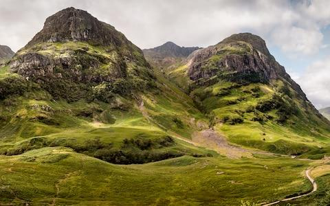 Drive through the Scottish Highlands - Credit: paul greeves