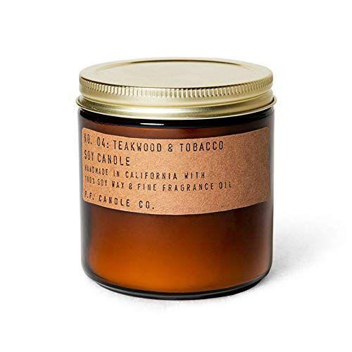 """<p><strong>P.F. Candle Co.</strong></p><p>amazon.com</p><p><strong>$29.00</strong></p><p><a href=""""https://www.amazon.com/dp/B07J4WRV5R?tag=syn-yahoo-20&ascsubtag=%5Bartid%7C10072.g.23584712%5Bsrc%7Cyahoo-us"""" rel=""""nofollow noopener"""" target=""""_blank"""" data-ylk=""""slk:SHOP NOW"""" class=""""link rapid-noclick-resp"""">SHOP NOW</a></p><p>Warm your home with this """"boyfriend scent"""" candle, which features rich elements like leather, smoke, and orange. The large size, with a burn time up to 70 hours, is meant to perfume bigger spaces. </p>"""
