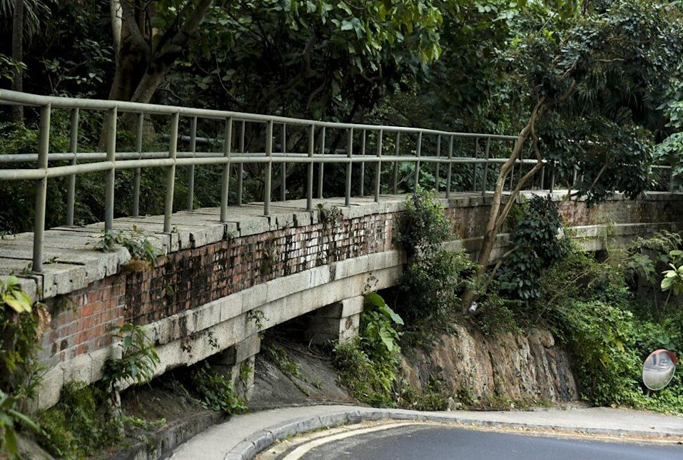 Only the section of the Pok Fu Lam Conduit marked No 9 is listed among Hong Kong's 1,444 historic buildings. Photo: Xiaomei Chen