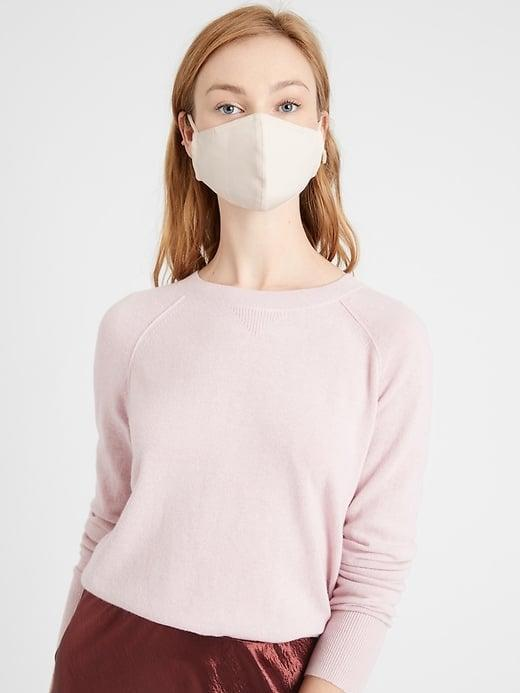 <p>A reviewer said the <span>Banana Republic True Hues Mask in Swell Shell</span> ($9) has a shell pink tone. As a person who loves millennial pink and dusty rose, I'd also get this choice.</p>