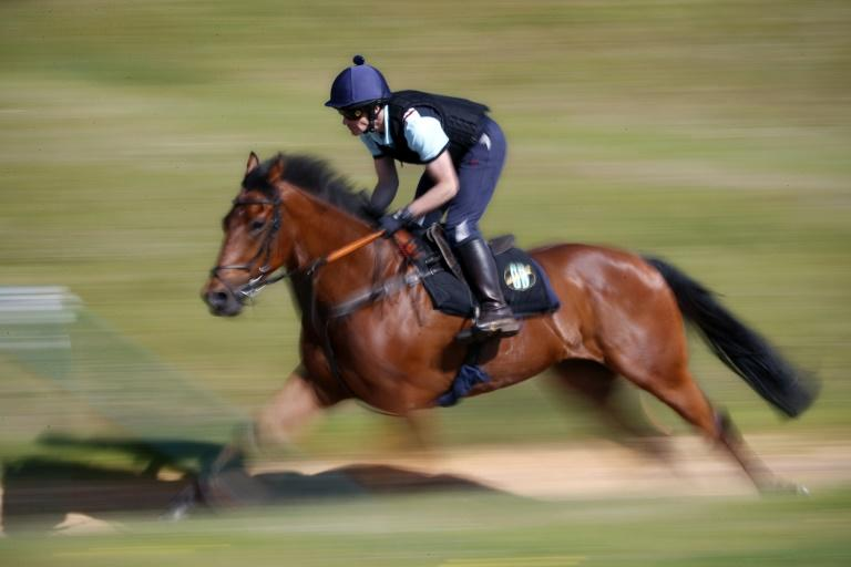 Horse racing returned in England on Monday with the first races since March