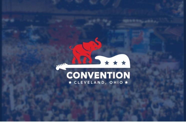 A screenshot of the official 2016 Republican National Convention mobile app, released Wednesday, July 6, 2016.