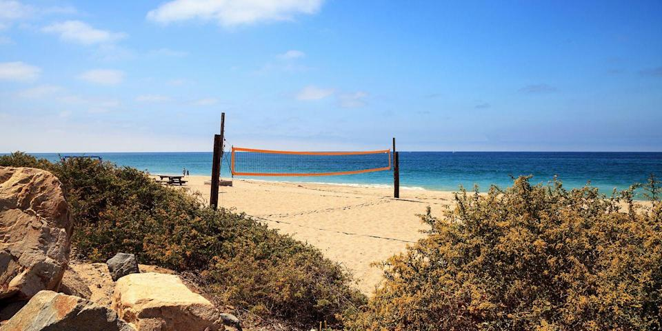 """<p><strong>Best Beach Campground </strong></p><p>California has quite a few beaches with campgrounds — sites where you can park your RV and within a few minutes' walk be right on the sand. One of the largest campsites is in <a href=""""https://go.redirectingat.com?id=74968X1596630&url=https%3A%2F%2Fwww.tripadvisor.com%2FHotel_Review-g33012-d647321-Reviews-San_Clemente_State_Beach-San_Clemente_California.html&sref=https%3A%2F%2Fwww.redbookmag.com%2Flife%2Fg37132327%2Ftop-california-beach-vacations%2F"""" rel=""""nofollow noopener"""" target=""""_blank"""" data-ylk=""""slk:San Clemente State Beach"""" class=""""link rapid-noclick-resp"""">San Clemente State Beach</a>, a mile-long stretch halfway between LA and San Diego. Be sure to make a reservation, as the campsites go quickly, especially in summer!</p><p><strong><em>Where to Stay: </em></strong><a href=""""http://www.parks.ca.gov/?page_id=646"""" rel=""""nofollow noopener"""" target=""""_blank"""" data-ylk=""""slk:San Clemente State Beach Campground"""" class=""""link rapid-noclick-resp"""">San Clemente State Beach Campground</a></p>"""