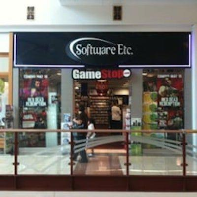 <p>In case it's not clear, this store sold software, etc. But more important, it was the home of GameStop, which was <em>the</em> place to buy video games at the mall.</p>