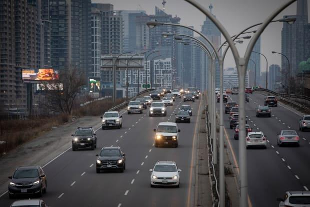 The Gardiner Expressway will be closed from Friday, July 9 at 11 p.m. to Monday, July 12 at 5 a.m. (Evan Mitsui/CBC - image credit)
