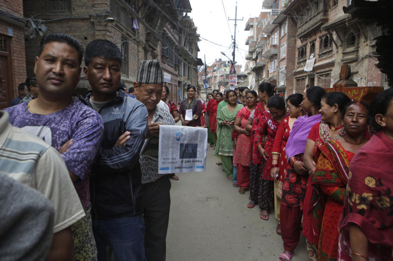 Millions in Nepal vote in second phase of local elections