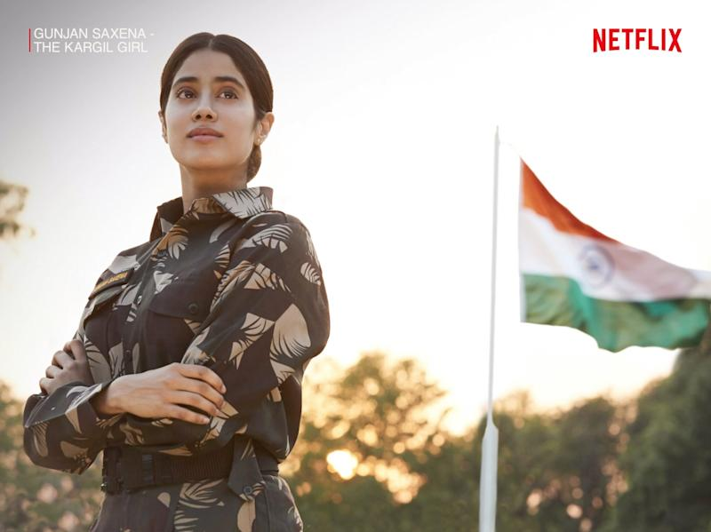 The biopic, starring actor Janhvi Kapoor in the titular role, celebrates the life and achievements of the Indian Air Force officer