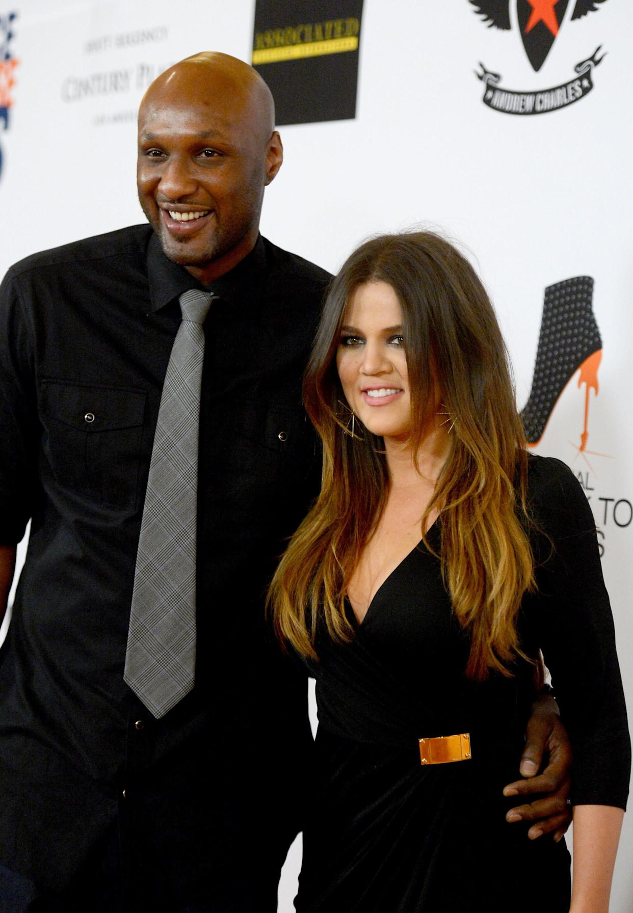 """""""You can tell I'm into the bald,"""" Odom told George Lopez in 2010 <a href=""""http://hollywoodlife.com/2010/03/11/khloe-kardashian-lamar-odom-bald-lopez/"""" rel=""""nofollow noopener"""" target=""""_blank"""" data-ylk=""""slk:while sitting with wife Khloe Kardashian"""" class=""""link rapid-noclick-resp"""">while sitting with wife Khloe Kardashian</a>. """"You got to keep it clean down there. It's disgusting if you let it go crazy."""""""