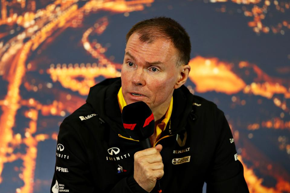 Alan Permane, Sporting Director of Renault Sport F1 talks in a press conference during day three of F1 Winter Testing at Circuit de Barcelona-Catalunya on February 21, 2020 in Barcelona, Spain.