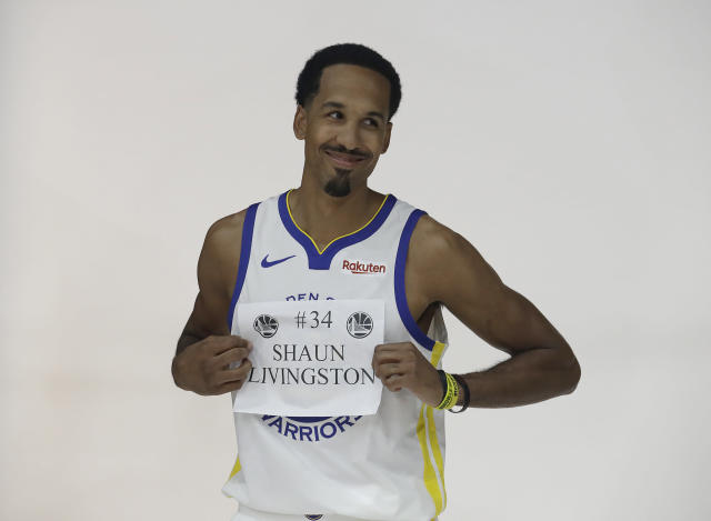 Golden State Warriors guard Shaun Livingston (AP Photo/Jeff Chiu)