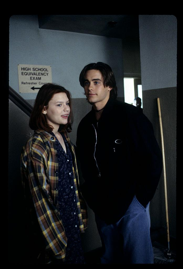 "Claire Danes and Jared Leto star in ""My So-Called Life"" in 1994. (Photo: Walt Disney Television via Getty Images)"