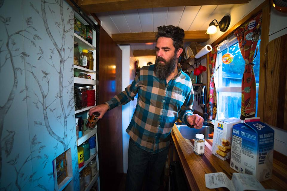 a week in my tiny house Alexis Stephens