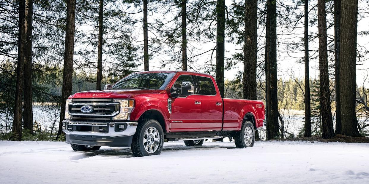 Ford Keeps It Old-School With the New 7 3-Liter Gas V8