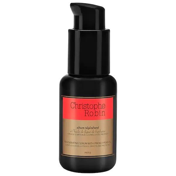 <p>For hair that's dry or damaged (from styling or chemical processes), this new, silicone-free <span>Christophe Robin Regenerating Hair Serum</span> ($51) is here to take on split ends, color fading, and frizz, and to keep it just as safe in the future.</p>