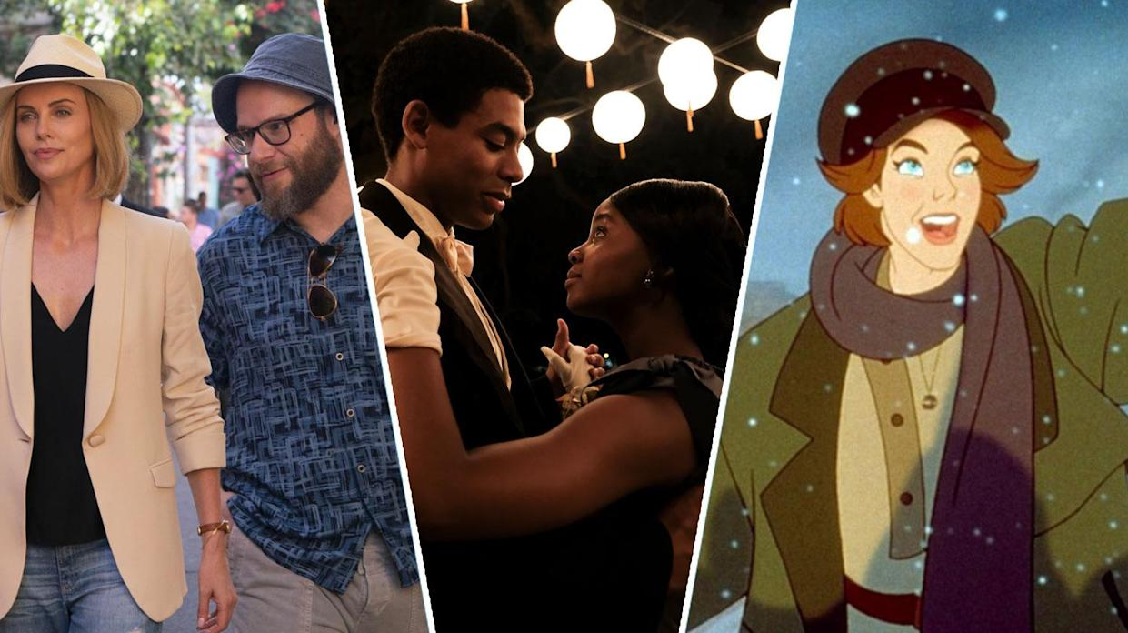Long Shot, The Underground Railroad, Anastasia are all new on UK streaming this weekend (Lionsgate/Amazon/20th Century Fox)