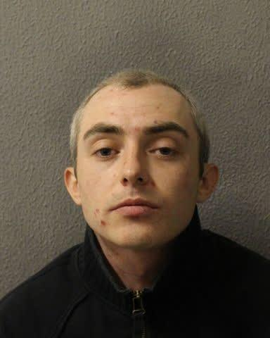 Mark Brown has been jailed for more than five years for the assault. (Metropolitan Police)