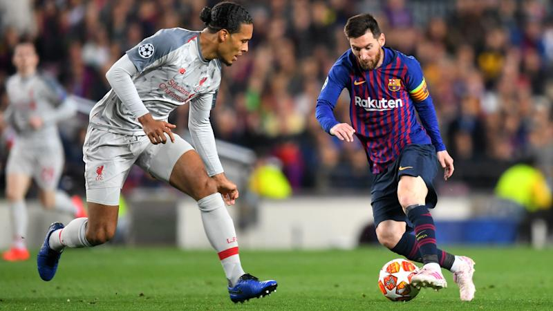 Van Dijk's confession about Messi and Aguero