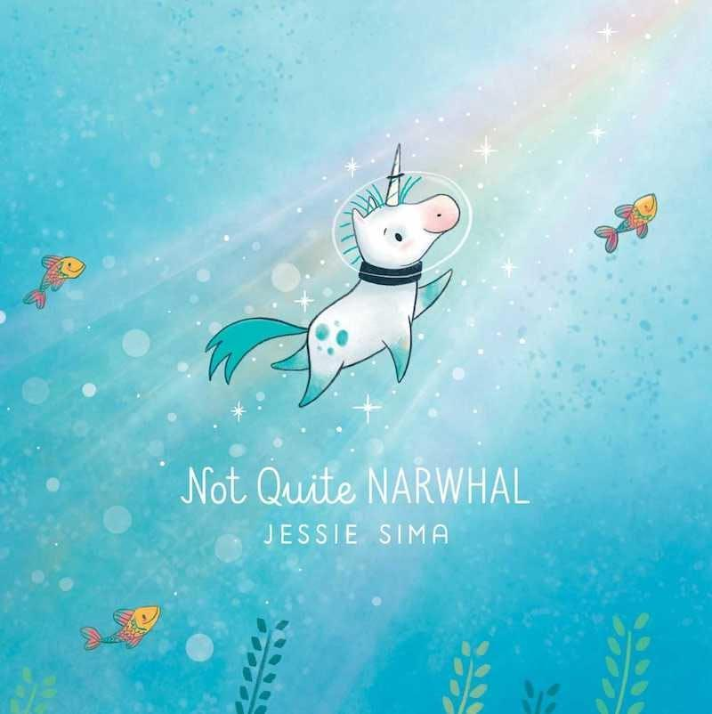 Book cover of Not Quite Narwhal