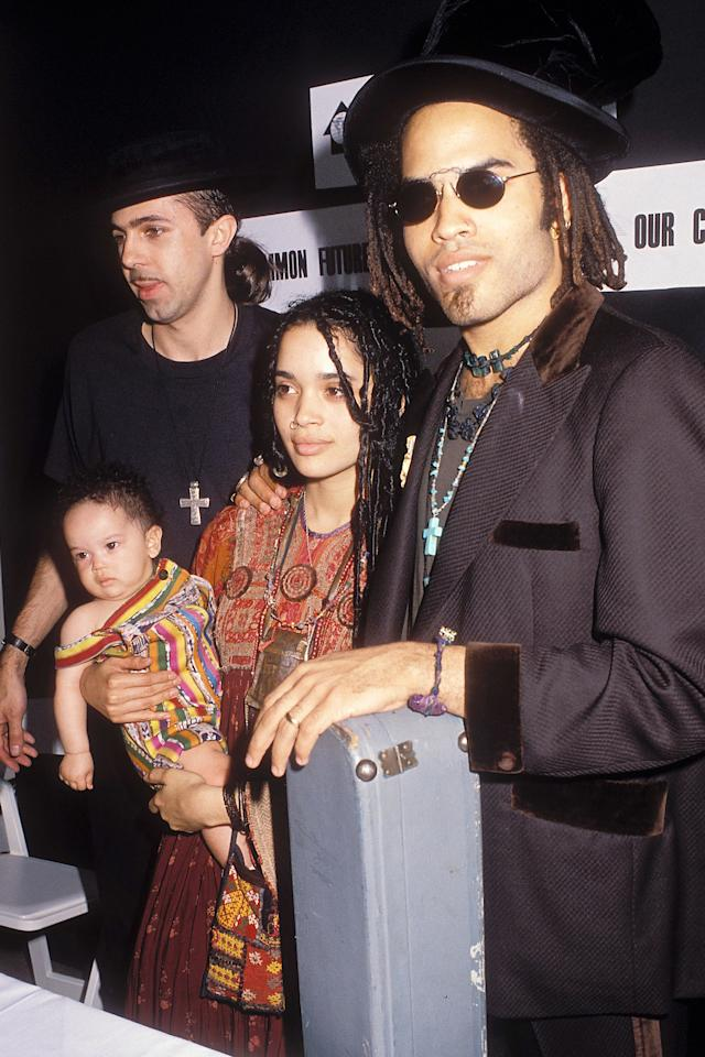 """When you're the daughter of <a href=""""https://people.com/movies/jason-momoa-feels-anything-is-f-king-possible-after-marrying-childhood-crush-lisa-bonet/"""">Lisa Bonet</a> (now married to <a href=""""https://people.com/movies/jason-momoa-says-stepdaughter-zoe-kravitz-as-catwoman-is-perfect-casting-get-to-work/"""">Jason Momoa</a>) and <a href=""""https://people.com/music/lenny-kravitz-lisa-bonet-jason-momoa-beautiful-relationship/"""">Lenny Kravitz</a>, you're already exponentially cooler than everyone — celebrity or not.  Here are Zoë and her parents back in 1989, looking adorable and unbothered at a press conference in N.Y.C."""