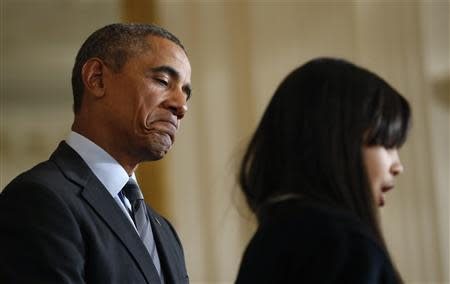 """Obama announces """"Promise Zones"""" at the White House in Washington"""