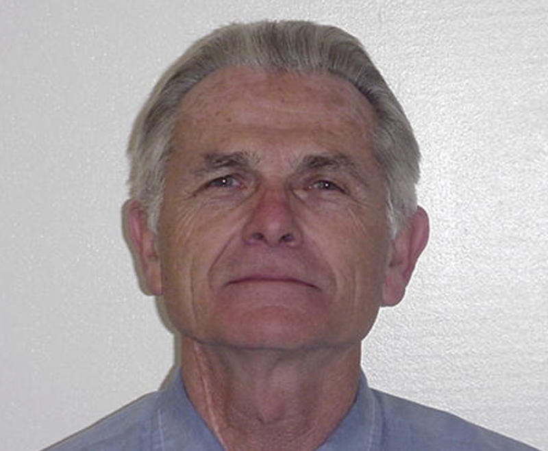 FILE - In this undated file photo provided by the California Department of Corrections and Rehabilitation shows Bruce Davis. Davis, convicted with Charles Manson and another man in two murders unrelated to the infamous Sharon Tate murders,  is set for an appearance before a parole board panel on Thursday, Oct. 4, 2012, the eve of his 70th birthday. (AP Photo/California Department of Corrections and Rehabilitation)
