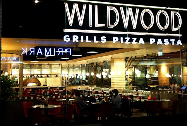 Branches of Wildwood restaurants will be offering free takeaways to NHS staff. (Warren Little/Getty Images)