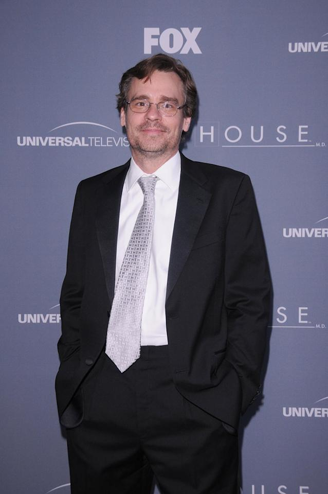 "Robert Sean Leonard arrives at the ""<a target=""_blank"" href=""http://tv.yahoo.com/house/show/36106"">House</a>"" Series Finale Wrap Party on Friday, April 20, 2012 at Cicada in downtown Los Angeles, California."