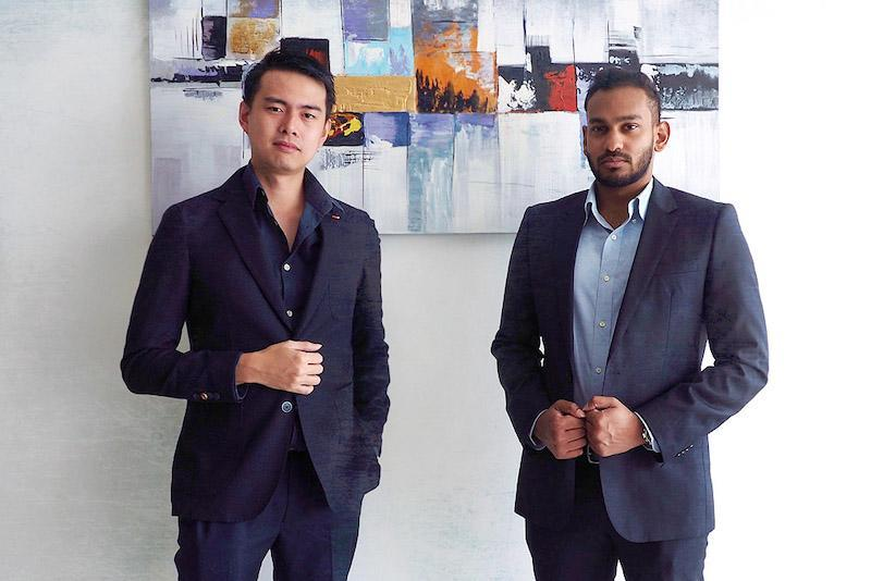 The Vegetable Co. founders Shawn Ng (left) and Sha G.P. (right). — Picture courtesy of The Vegetable Co.
