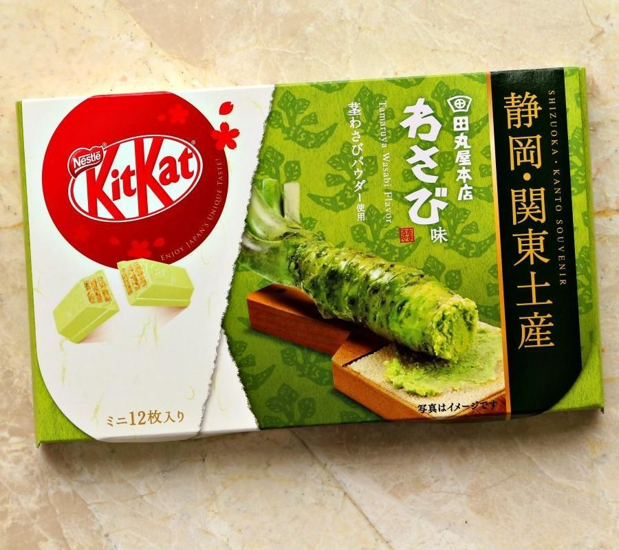 <p>Japan's Wasabi-flavored Kit Kat. (Photo courtesy of Shutterstock)</p>