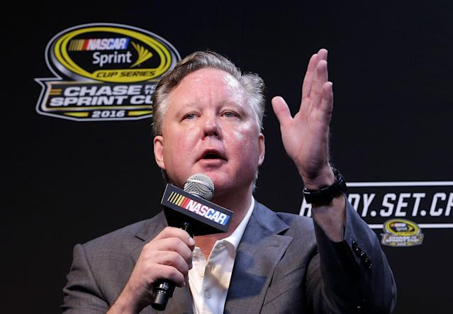 NASCAR CEO and Chairman, Brian France reached a deal with the DA in Suffolk County over a drunk driving arrest from August. (AP Photo/Alan Diaz, FIle)