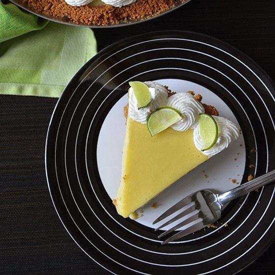 """<p>If Key limes aren't available, try swapping in another tart citrus fruit, says Andrew Zimmern. """"Remember that the sweetened condensed milk is very sweet,"""" he says.</p><p><a href=""""https://www.foodandwine.com/recipes/andrew-zimmerns-key-lime-pie"""">GO TO RECIPE</a></p>"""