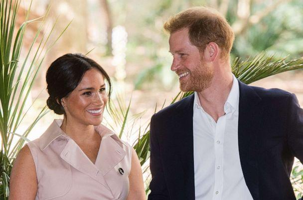 PHOTO: Prince Harry, Duke of Sussex and Meghan, Duchess of Sussex visit the British High Commissioner's residence in Johannesburg, South Africa, Oct. 2, 2019. (WireImage via Getty Images, FILE)